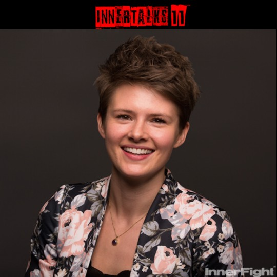 InnerTalks 11 with British Powerlifting Champion and Social Media Entrepreneur, Jodie Cook