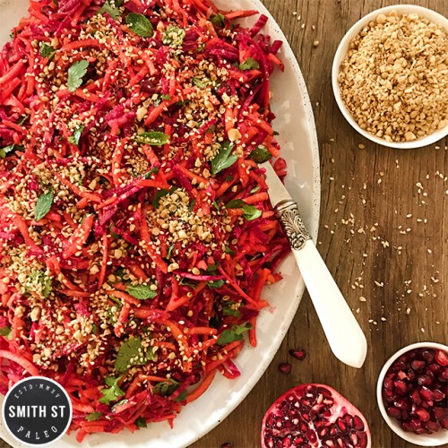 Paleo Carrot and Beetroot Salad