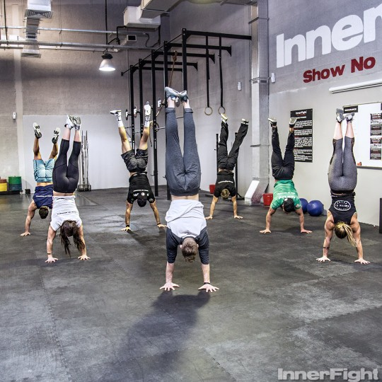 The 30-day Handstand Challenge