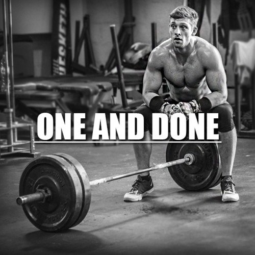 'One and Done'