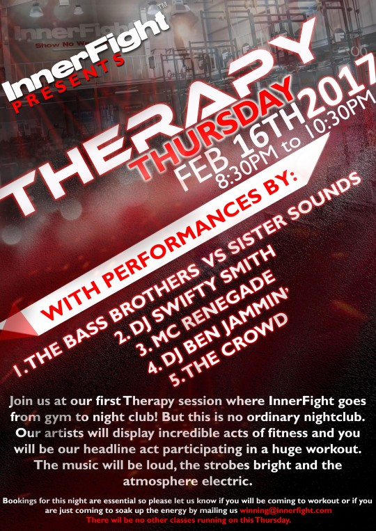 InnerFight presents 'THERAPY' Thursday Session