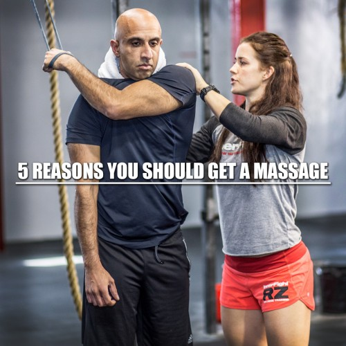 5 Reasons to get a Massage
