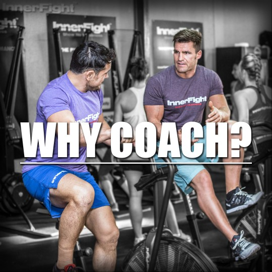 Why Coach? The Rewards of being a Coach.