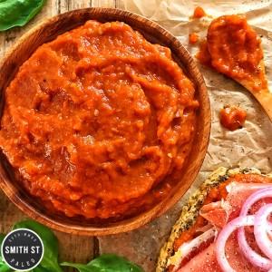 Ajvar (Balkan Red Pepper Relish)
