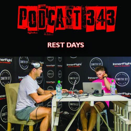 #343: Rest days. Fitness in under 3 minutes