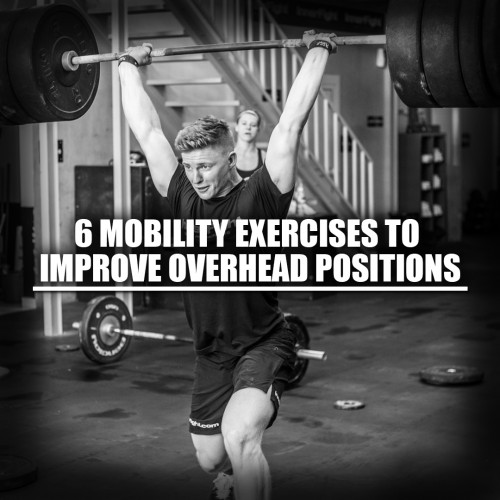 6 mobility exercises to improve your overhead position