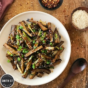 Sweet & Spicy Chinese Eggplant